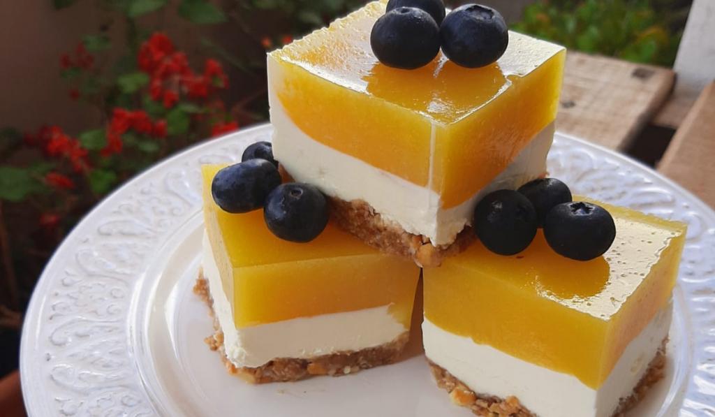Cheesecake fría de mango